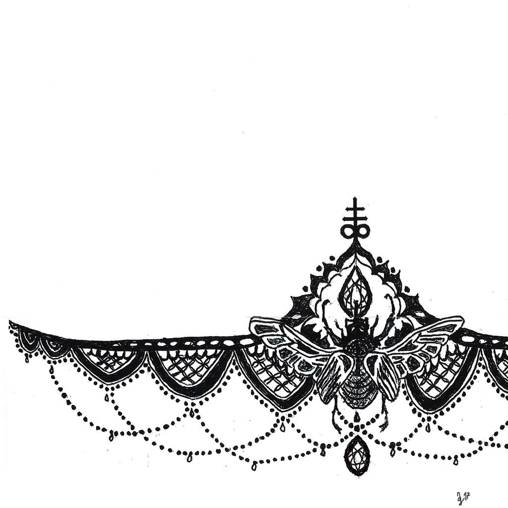 nderbreasttattoo #bug #flying #grafik #graphic #tattoo #annegeorgius #corpusdelicti #principia.discordia
