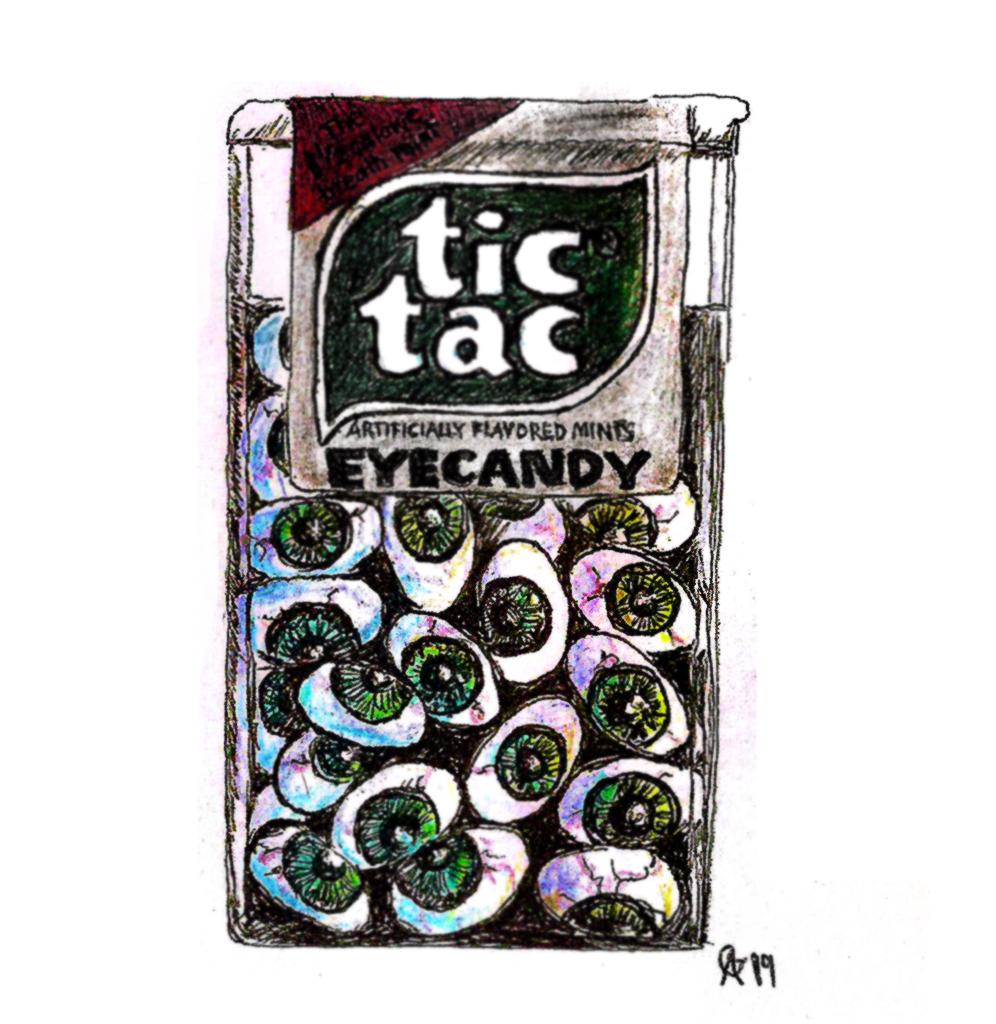 #tictac #eyecandy #eyes #bonbons #grafik #graphic #tattoo #annegeorgius #corpusdelicti #principia.discordia