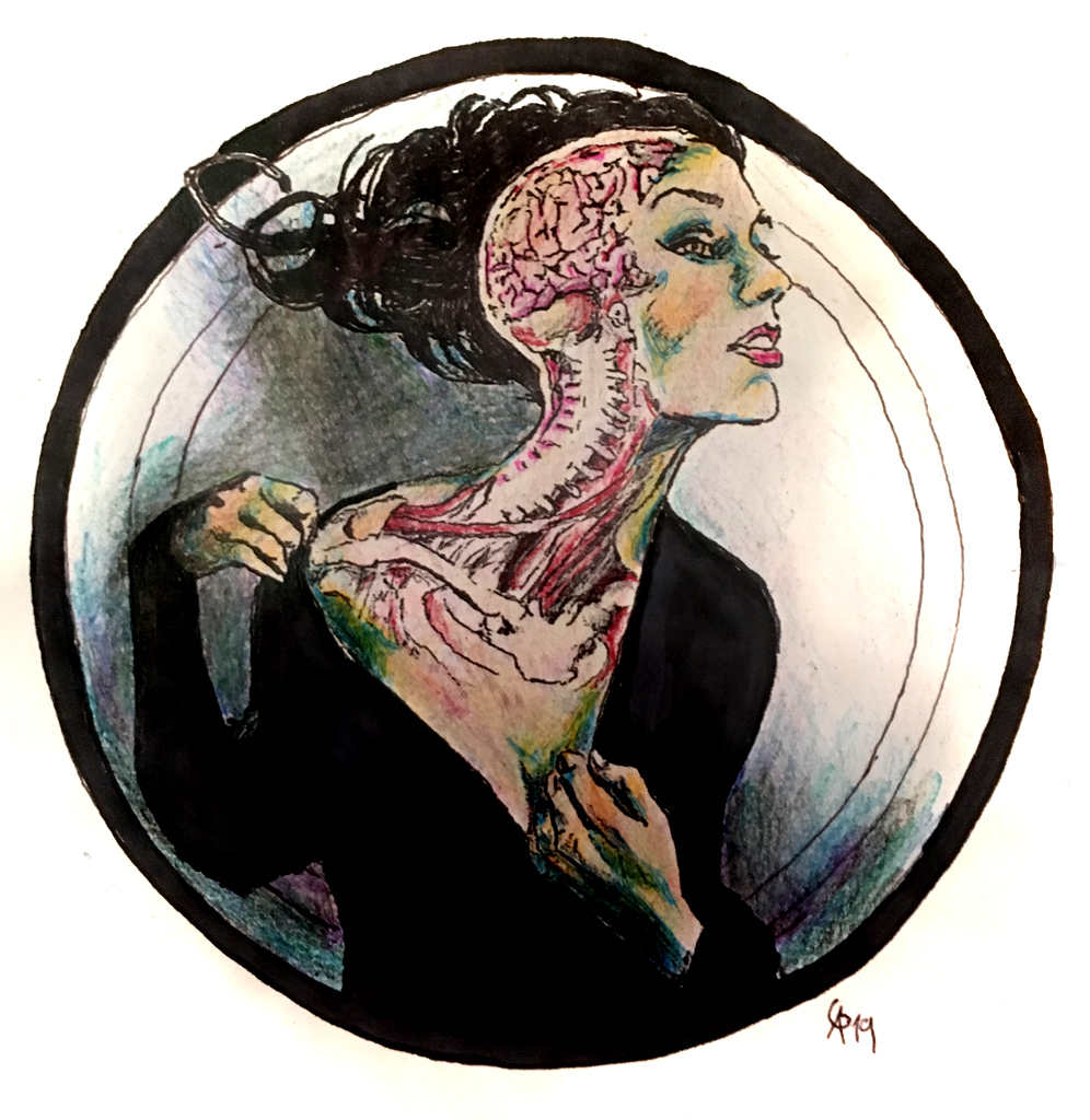 #transversalcut #cut #transversal #grafik #graphic #girl #tattoo #annegeorgius #corpusdelicti #principia.discordia