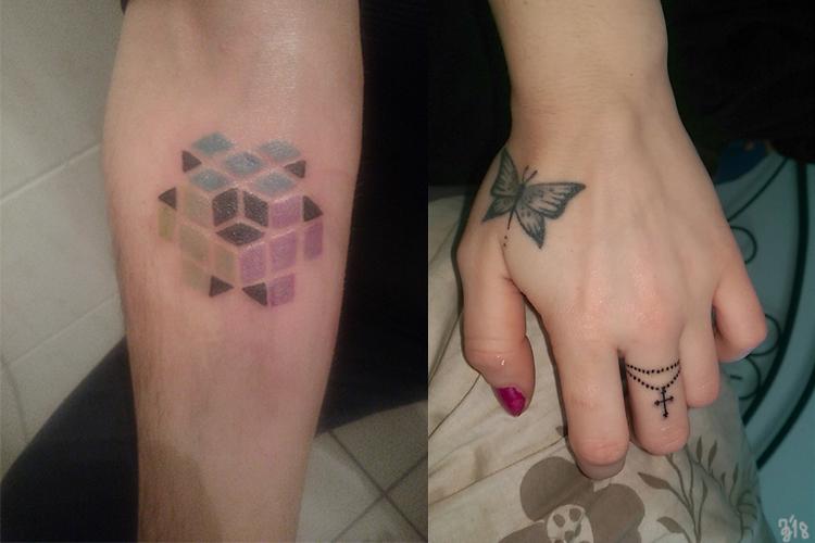 #cube #cubetattoo #fingerringtattoo #fingerring #leipzigtattoo #tattooleipzig #bodyart #conceptualbodyart #tattoo #annegeorgius #corpusdelicti #arte.corpus.delicti