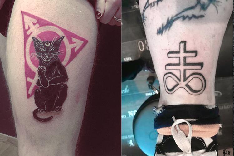 #fightfeminism #feminismtattoo #kittentattoo #kitten #leviathancross #churchofsatan #leipzigtattoo #tattooleipzig #bodyart #conceptualbodyart #tattoo #annegeorgius #corpusdelicti #arte.corpus.delicti